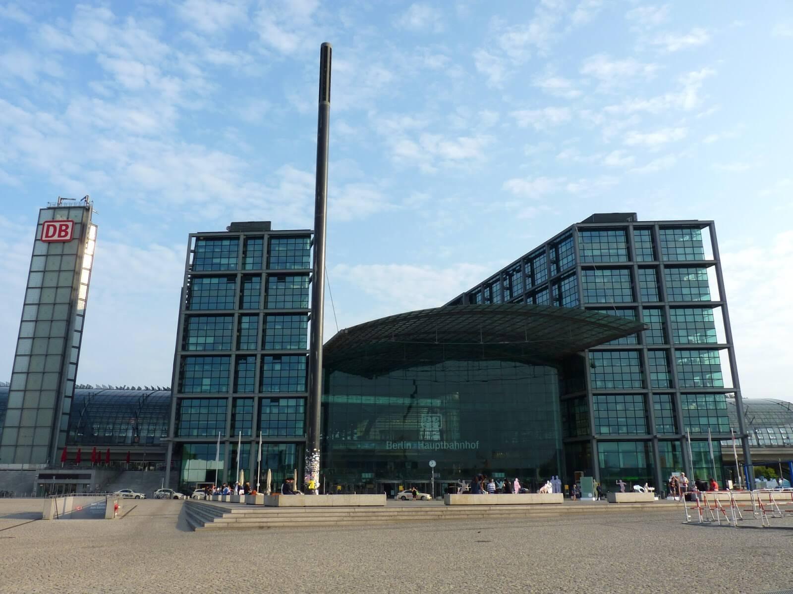 Berlim Alemanha Estação Central Mundo Indefinido