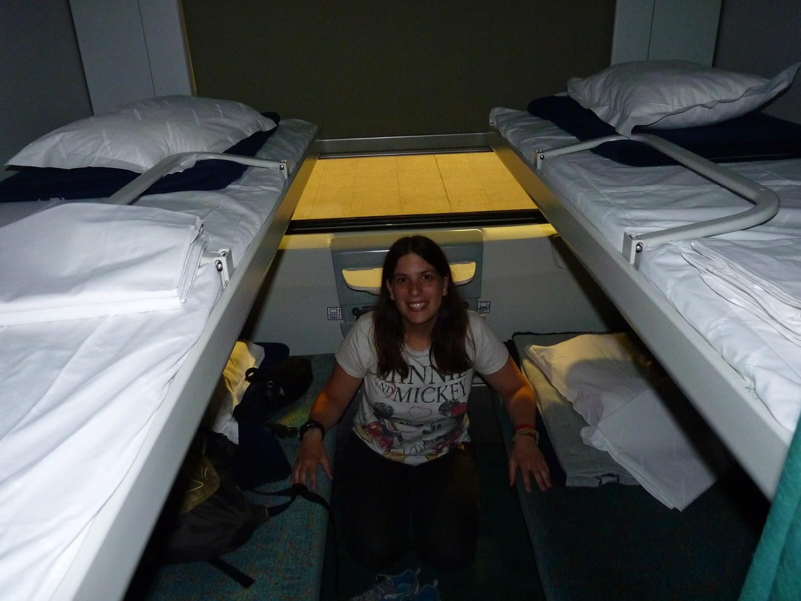 Comboio camas Mundo Indefinido