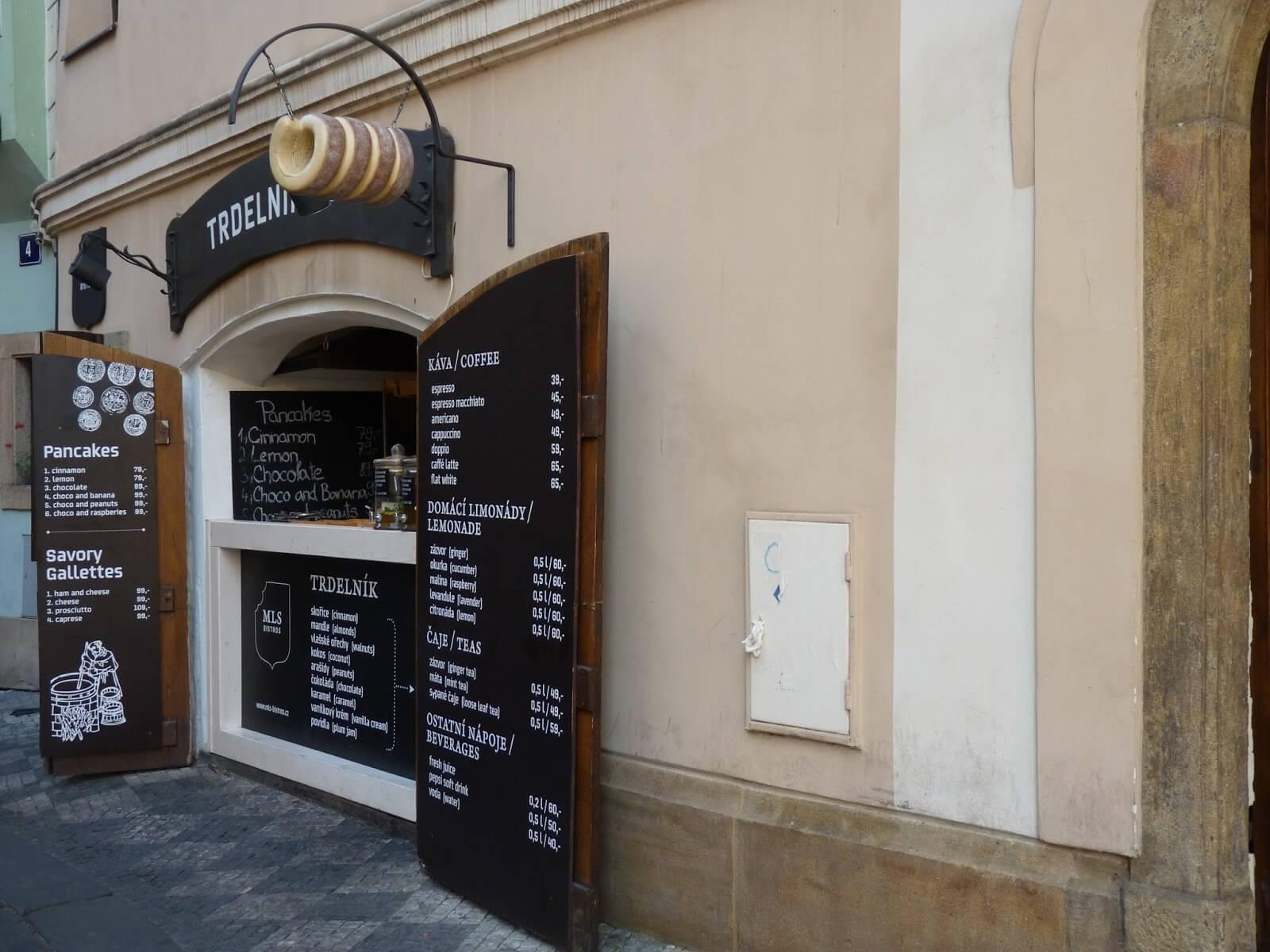 Praga República Checa venda Trdelnik Mundo Indefinido