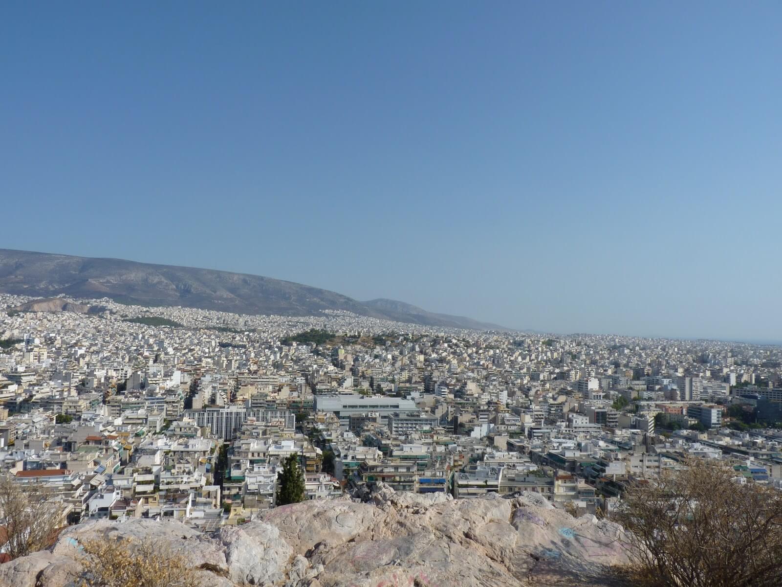 Atenas Vista 03 Grécia Mundo Indefinido