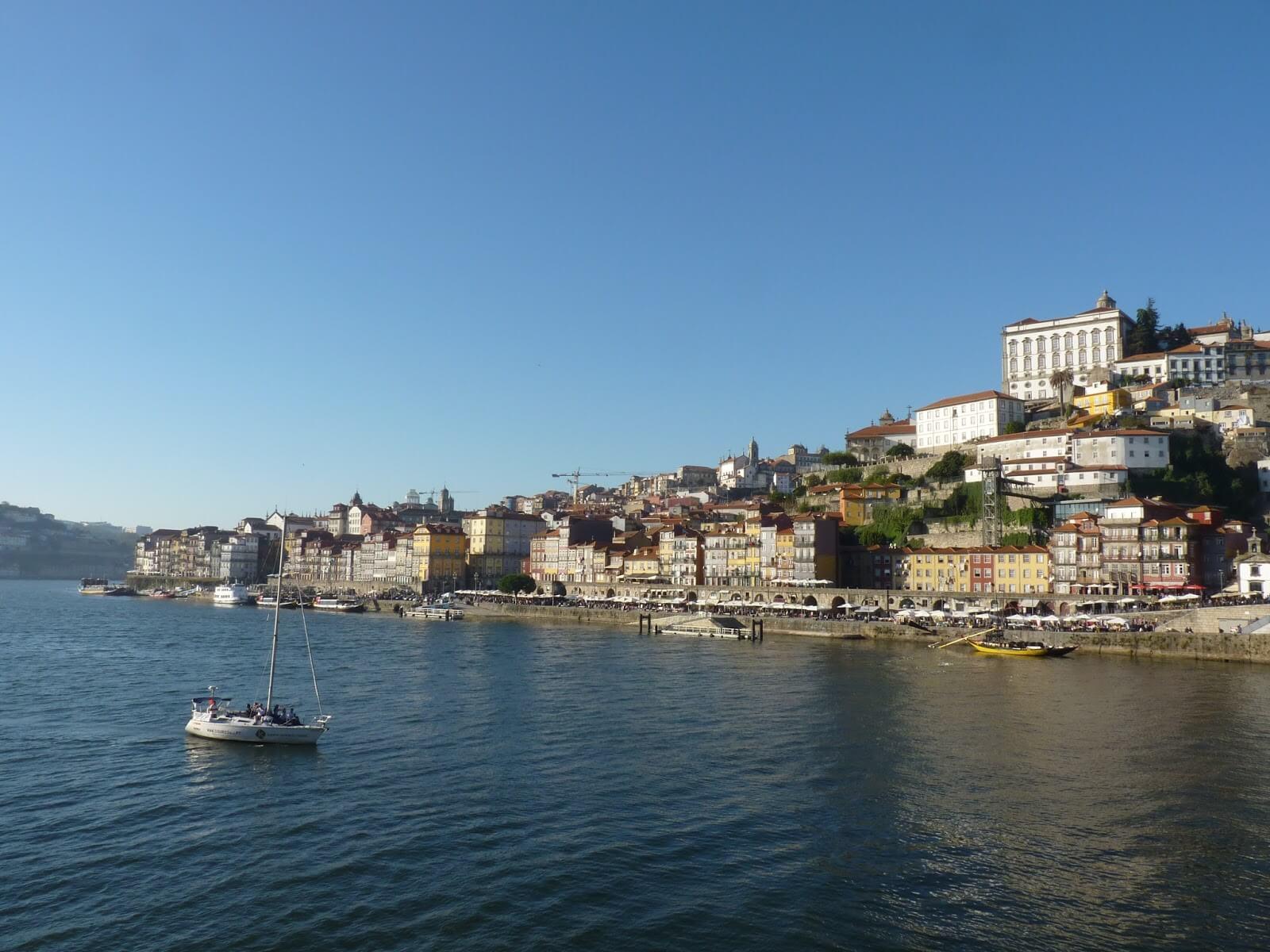 Ribeira Porto Portugal Mundo Indefinido