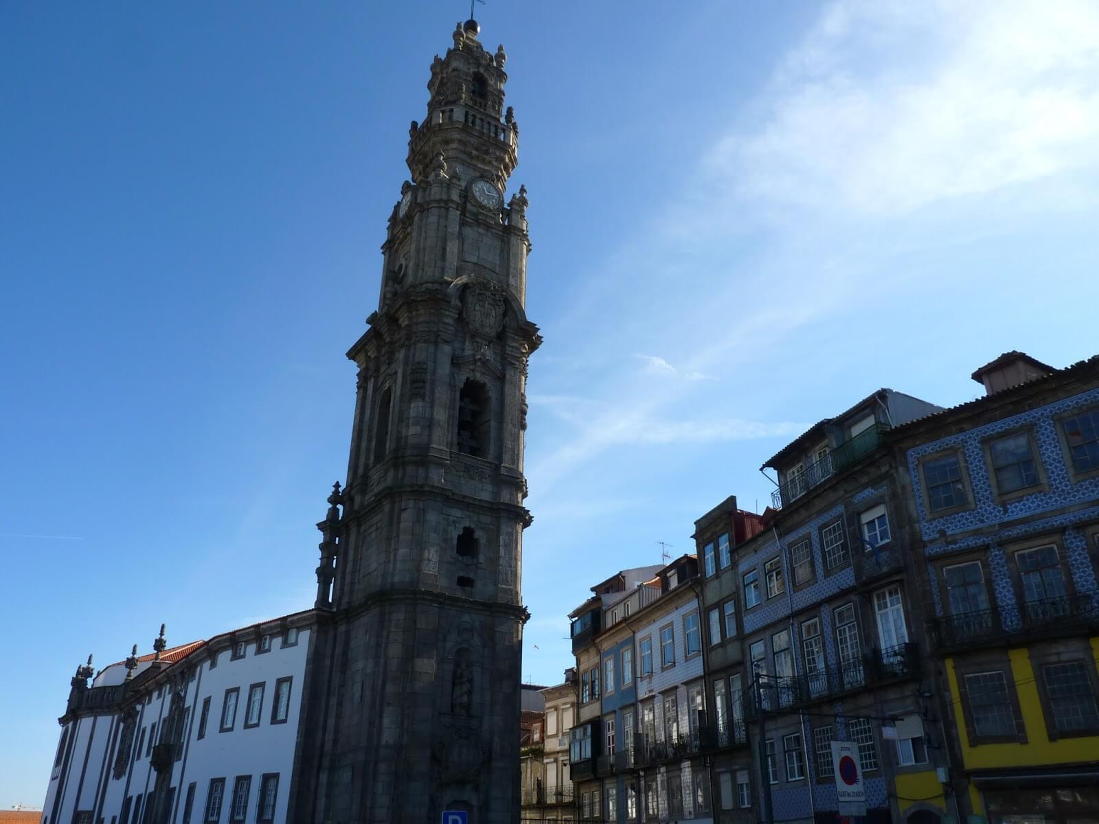 Torre dos Clérigos Porto Portugal Mundo Indefinido