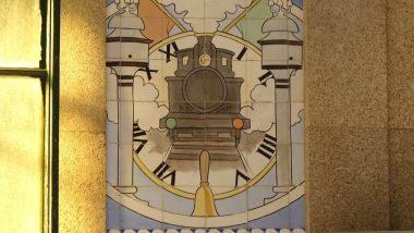 Porto São Bento Azulejos 01 Porto Portugal Mundo Indefinido