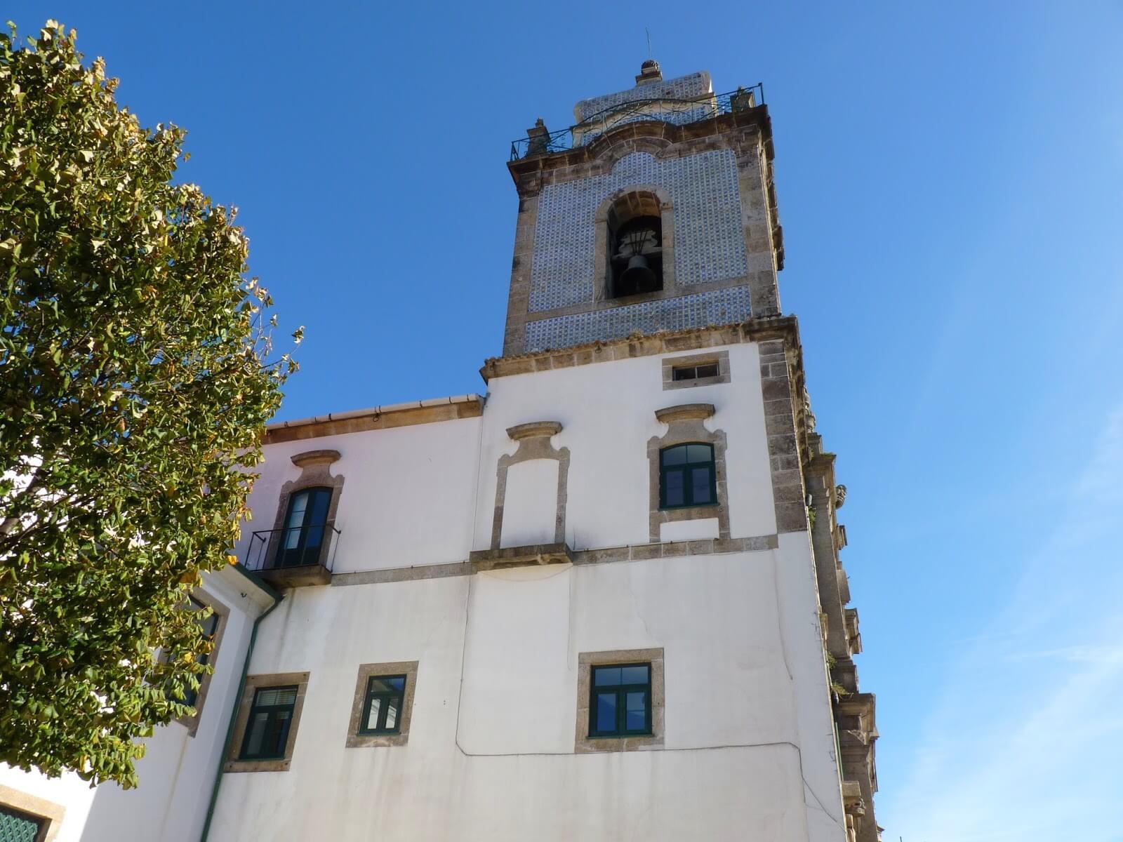 Torre Igreja dos Carmelitas Porto Portugal Mundo Indefinido