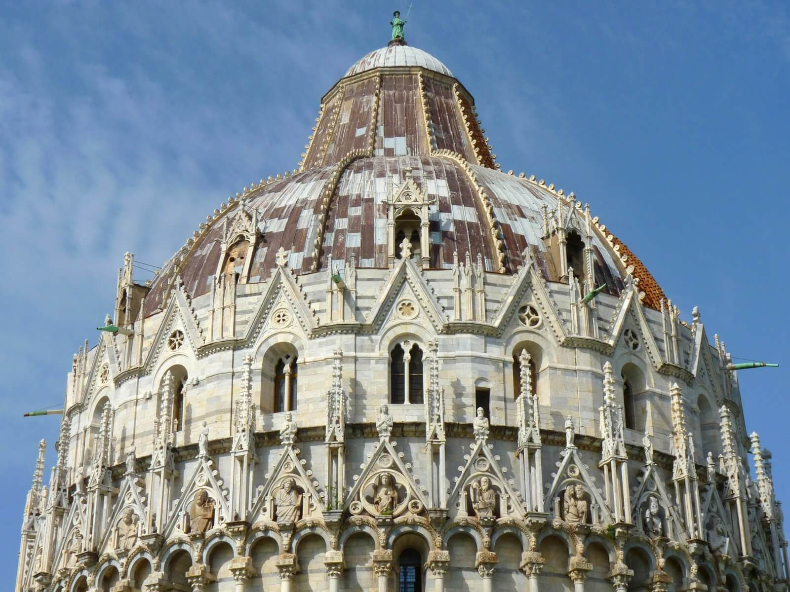 Battistero di San Giovanni Topo Pisa Itália Mundo Indefinido