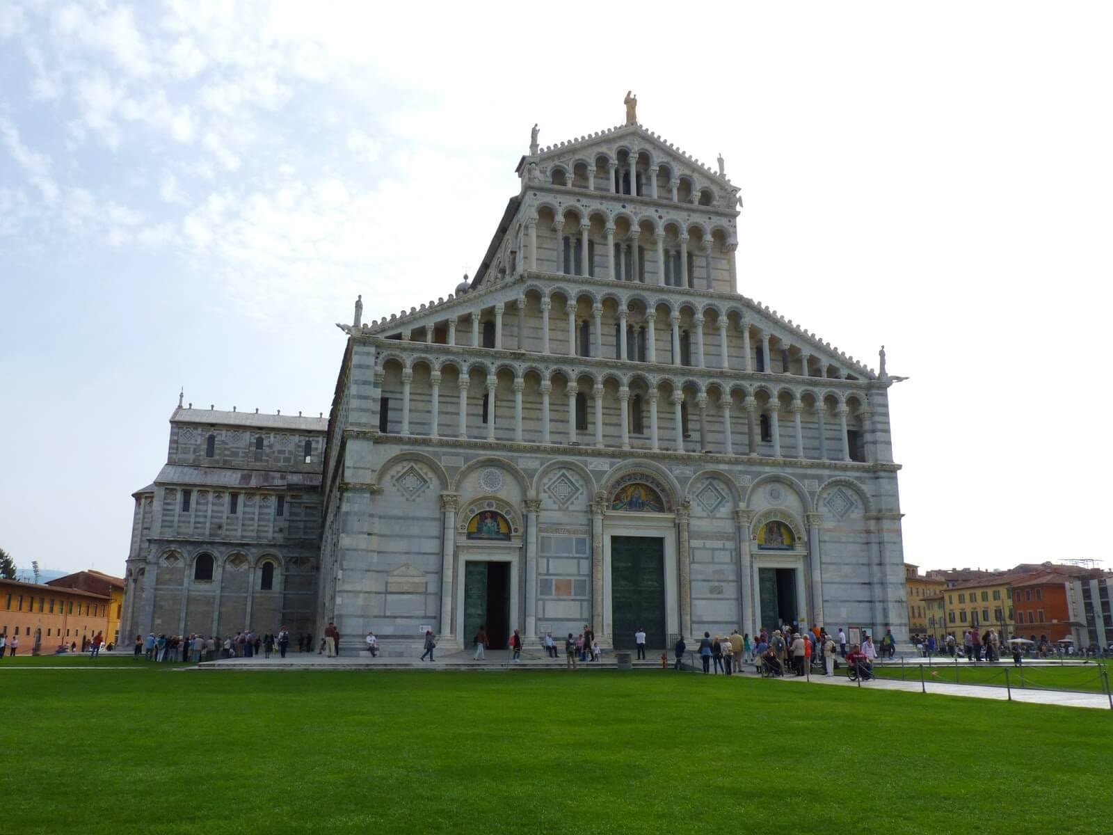 Cattedrale di Pisa Frente Itália Mundo Indefinido