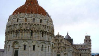Piazza del Duomo Pisa Itália Mundo Indefinido