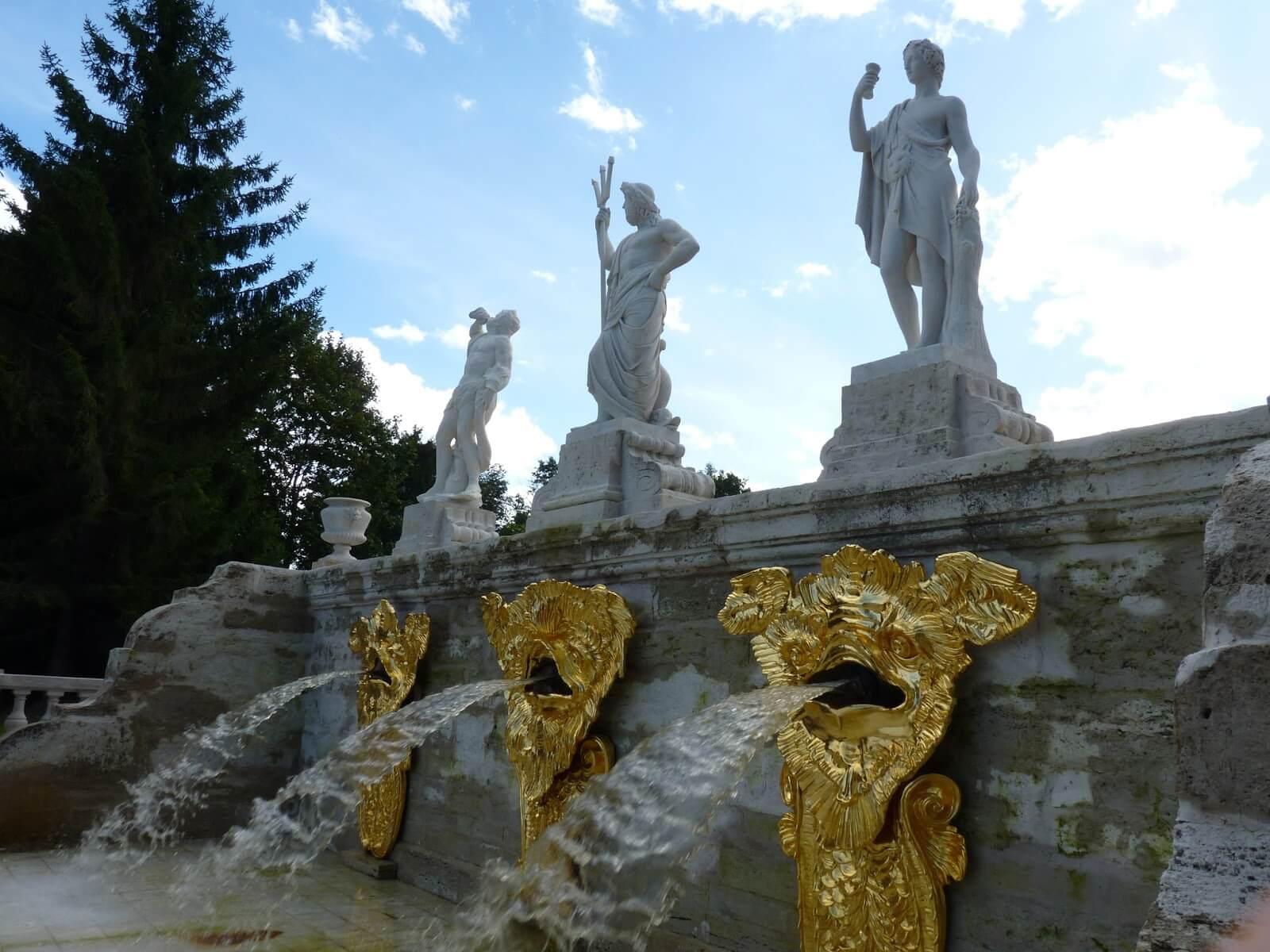 Peterhof São Petersburgo Rússia Mundo Indefinido 02