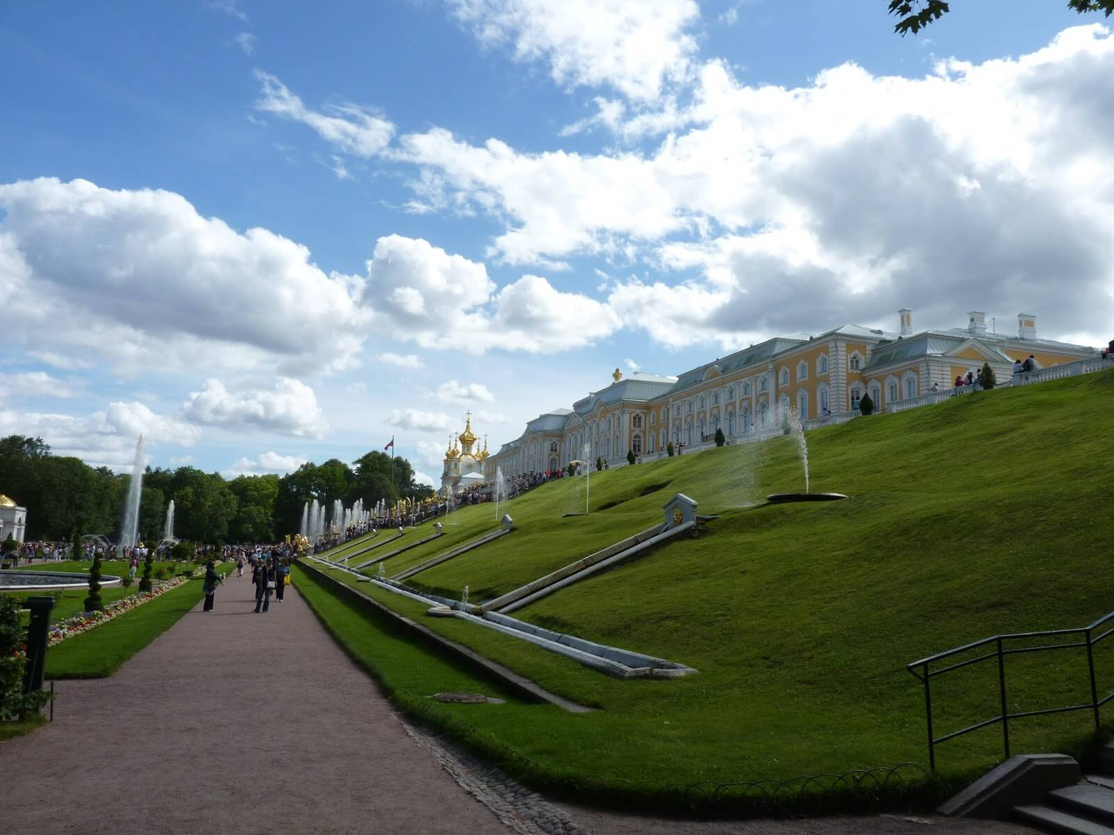 Peterhof São Petersburgo Rússia Mundo Indefinido 04