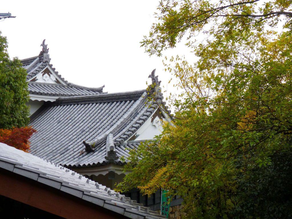 Gifu Castelo pormenor Japão Mundo Indefinido