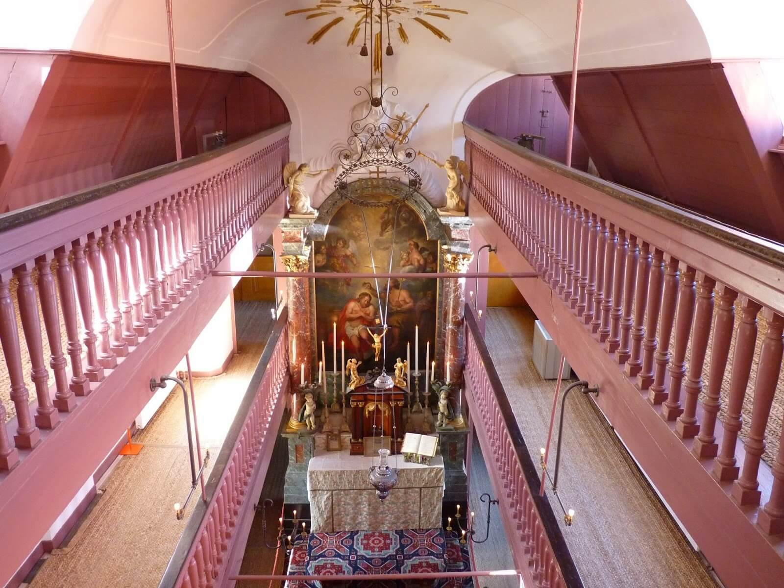 Igreja de Nosso Senhor do Sótão altar 01 Amesterdão Países Baixos Mundo Indefinido