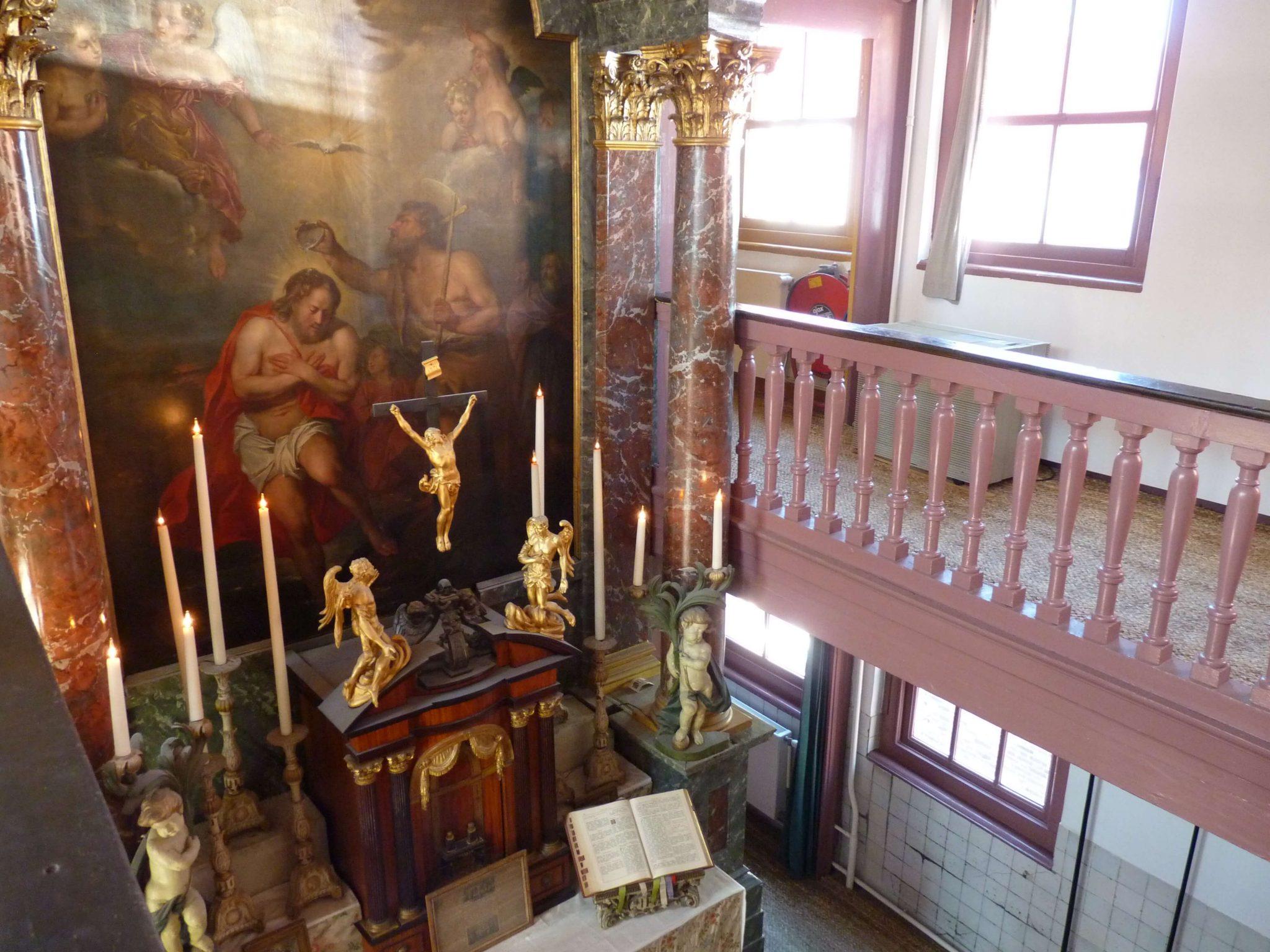 Igreja de Nosso Senhor do Sótão altar 02 Amesterdão Países Baixos Mundo Indefinido