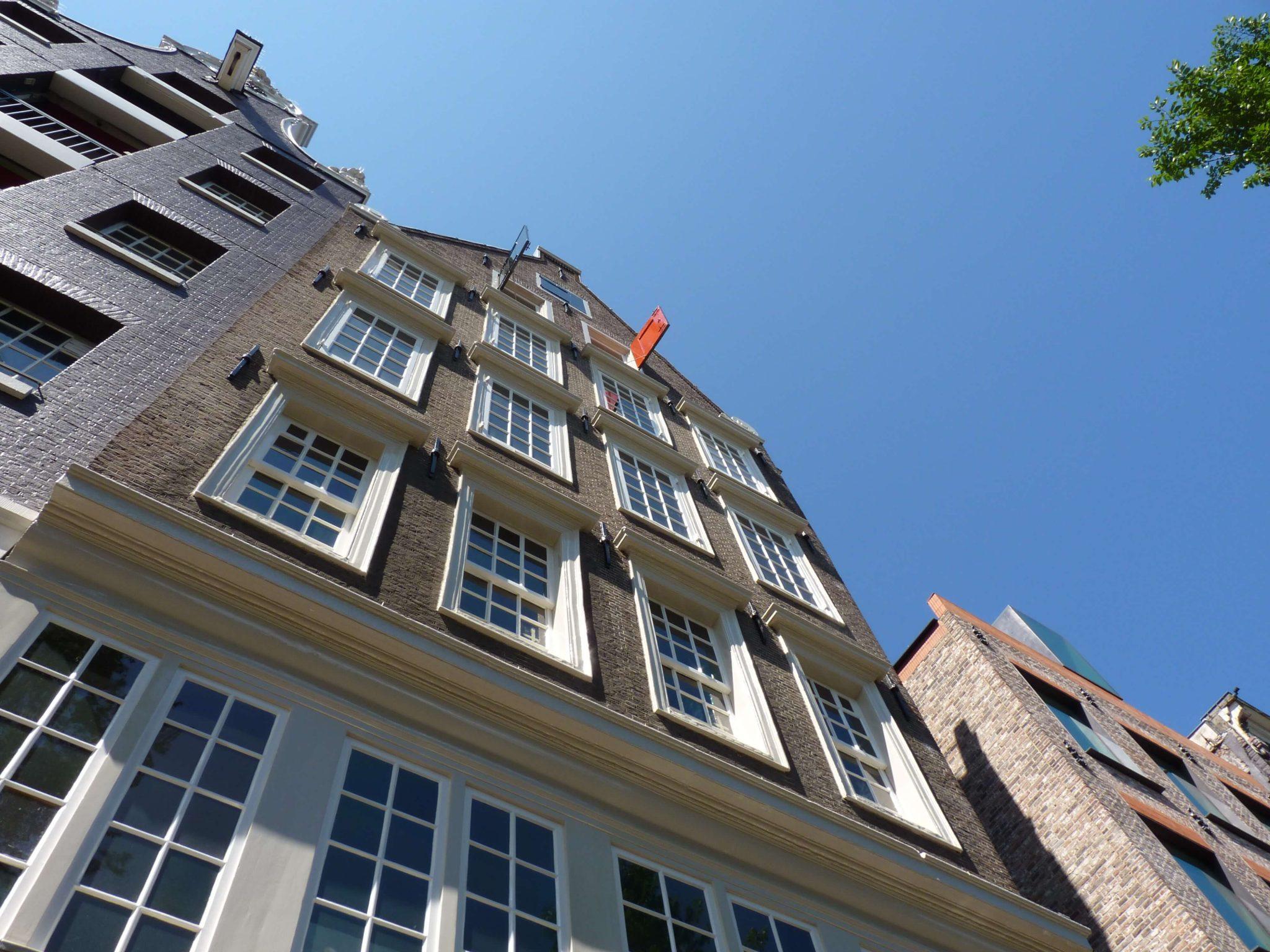 Igreja de Nosso Senhor do Sótão fachada Amesterdão Países Baixos Mundo Indefinido
