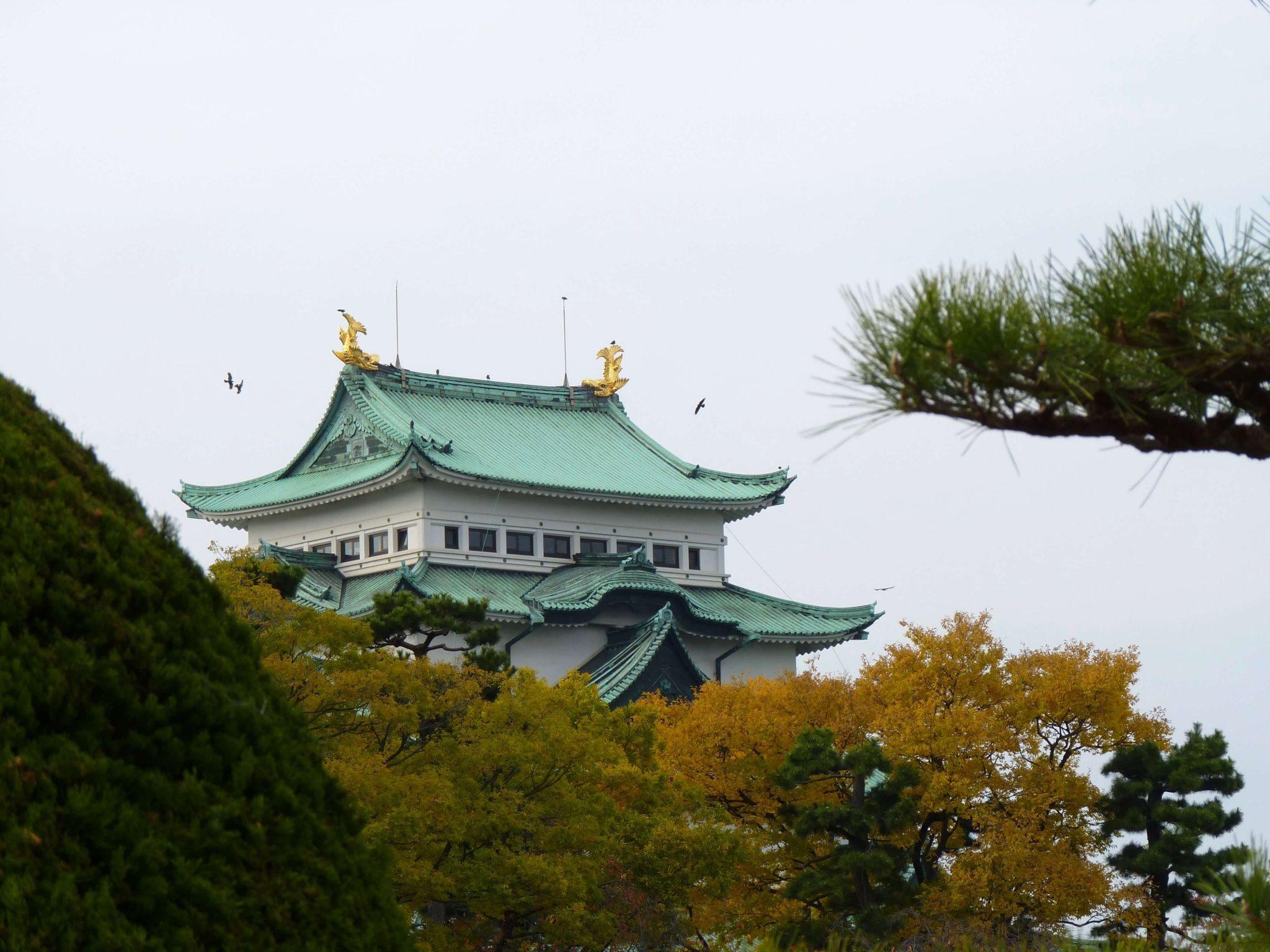 Nagoya Castelo 03 Japão Mundo Indefinido