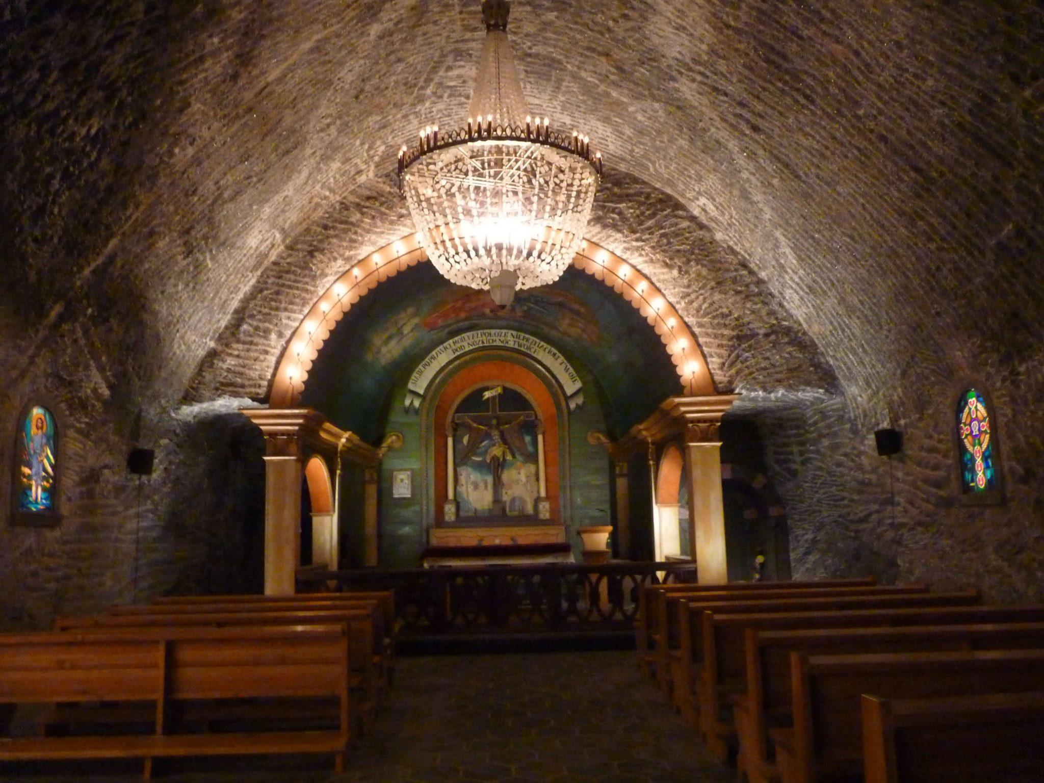 Capela 02 Minas de Sal de Wieliczka Polónia Mundo Indefinido
