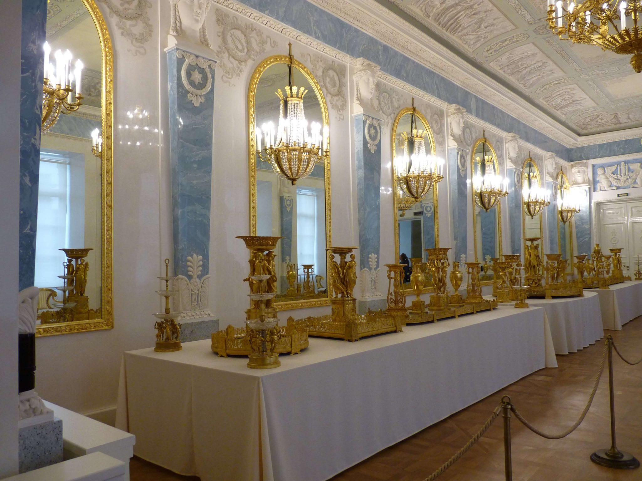 Edifício do Estado Maior interior São Petersburgo Rússia Mundo Indefinido