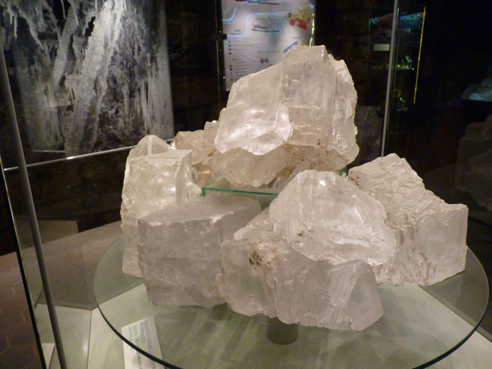 Exposição 02 Minas de Sal de Wieliczka Polónia Mundo Indefinido