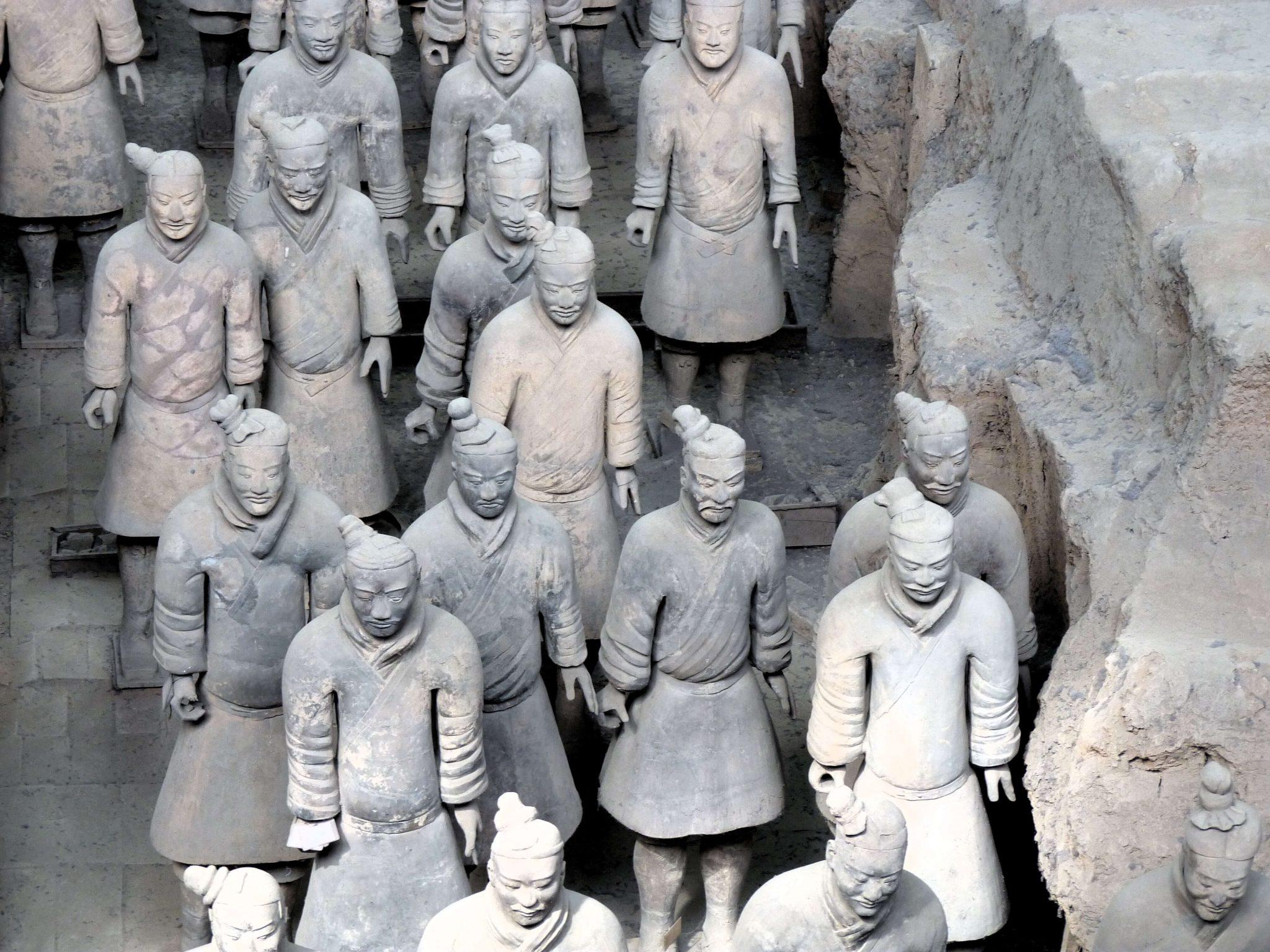 Guerreiros de Terracota Xian China Mundo Indefinido