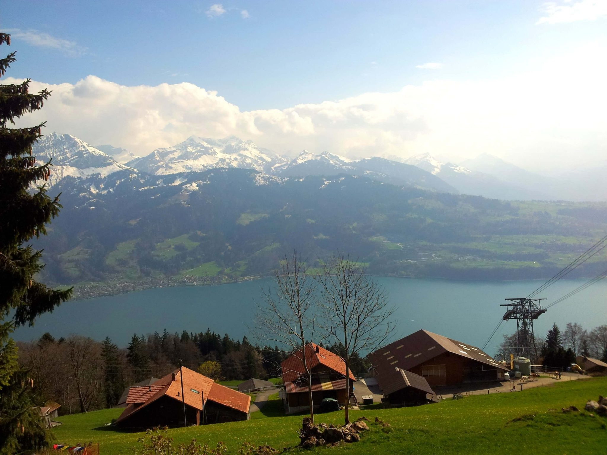 Interlaken Suíça Mundo Indefinido-