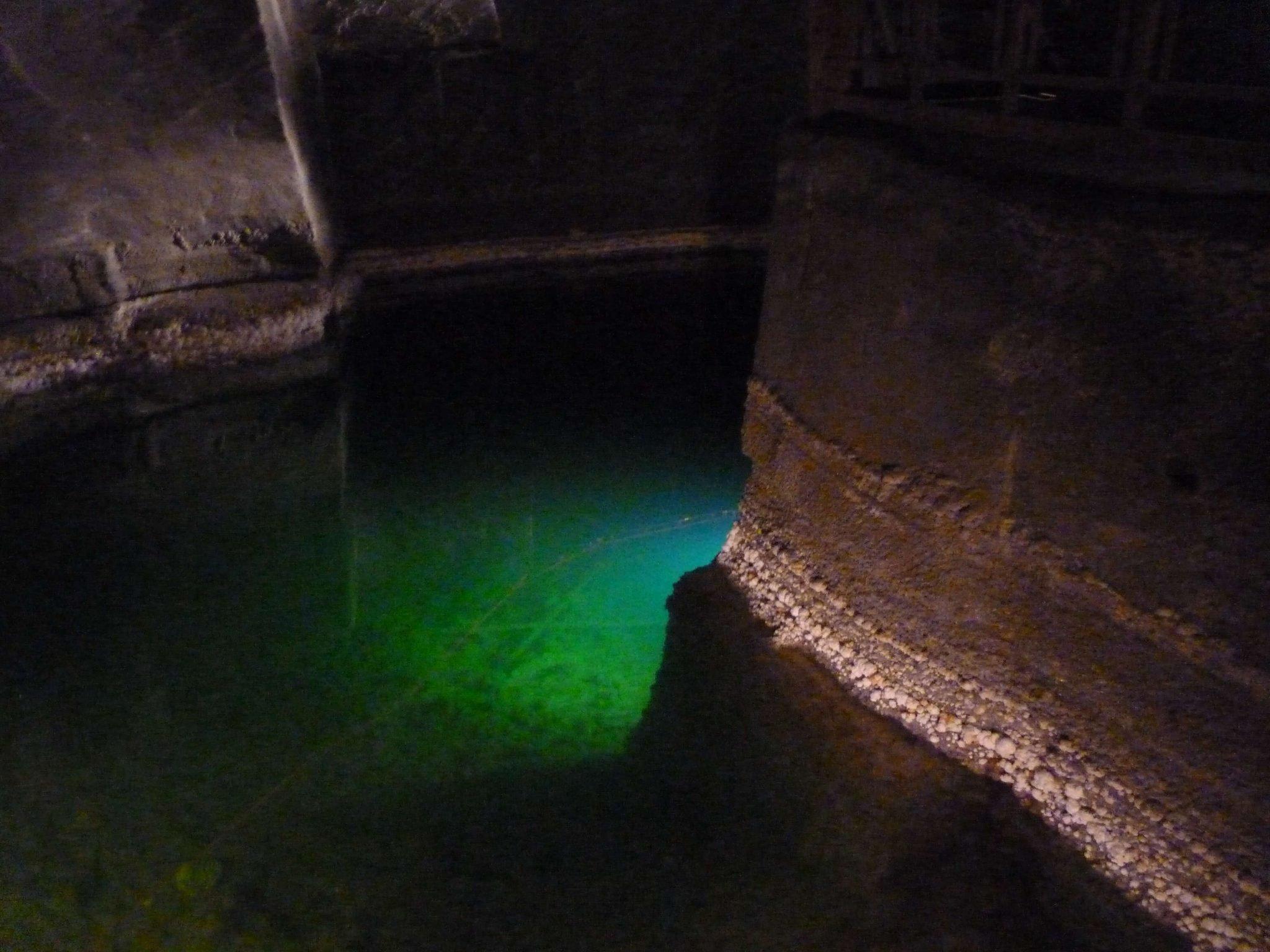 Lagoa Minas de Sal de Wieliczka Polónia Mundo Indefinido
