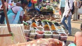 Mercado Goa Índia Mundo Indefinido