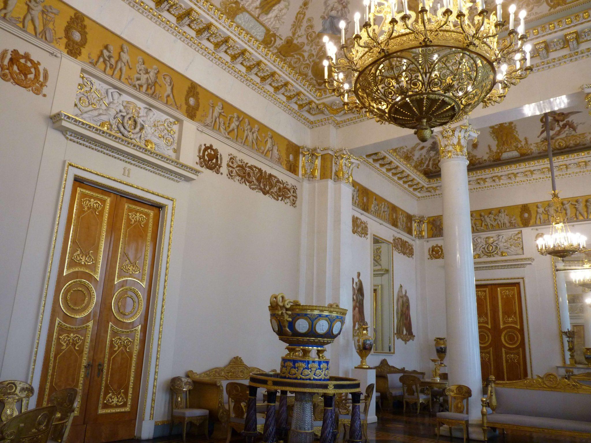 Museu Russo interior 02 São Petersburgo Rússia Mundo Indefinido