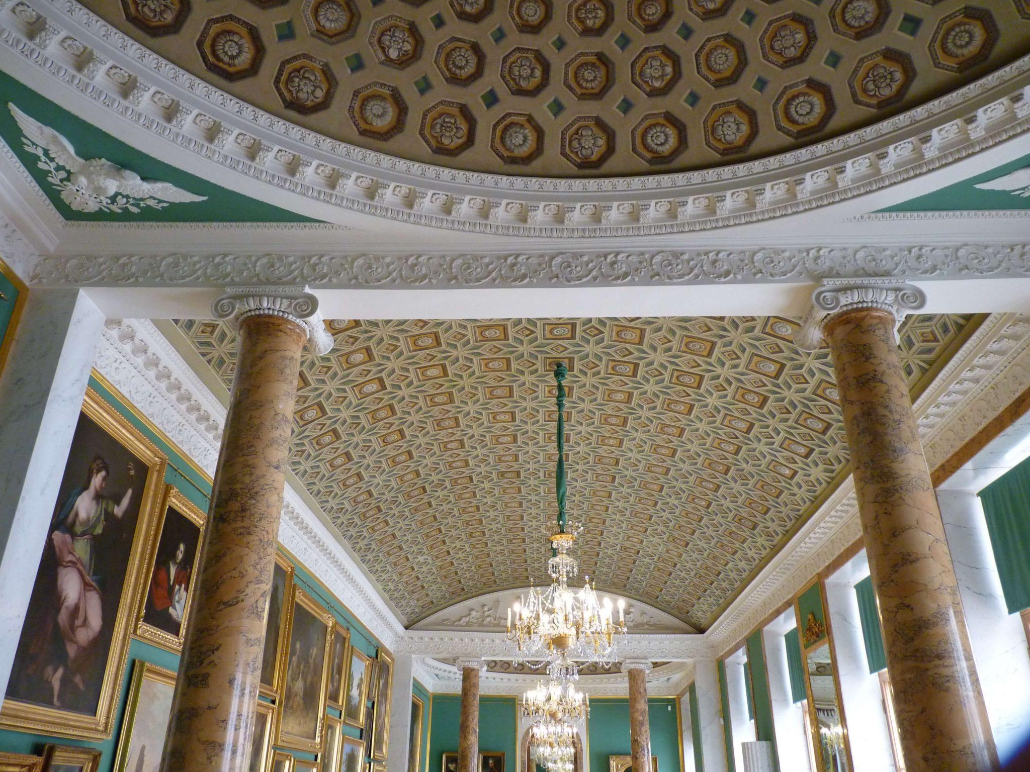 Palácio Stroganovsky interior 02 São Petersburgo Rússia Mundo Indefinido