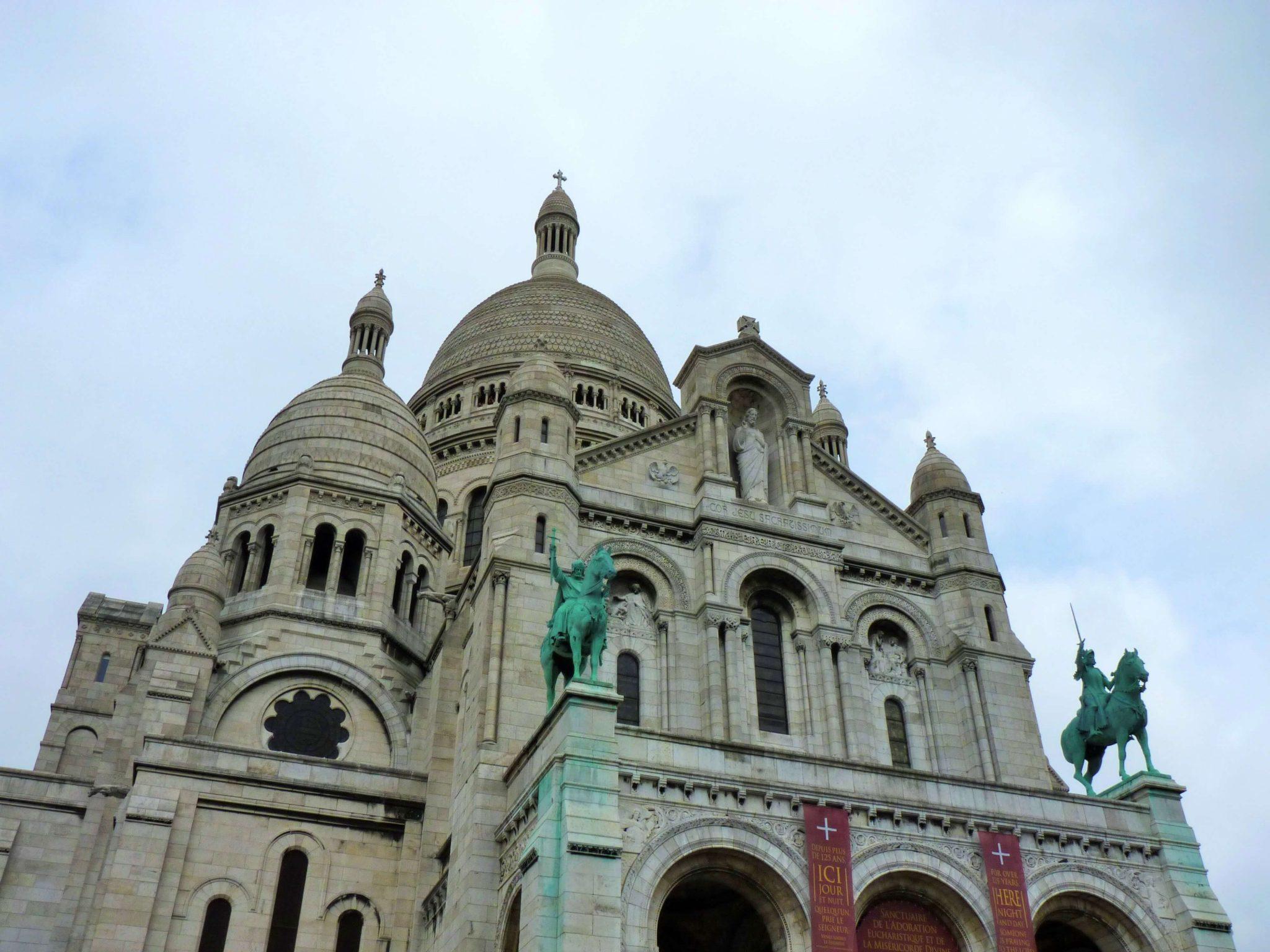 Sacré Coeur Paris França Mundo Indefinido