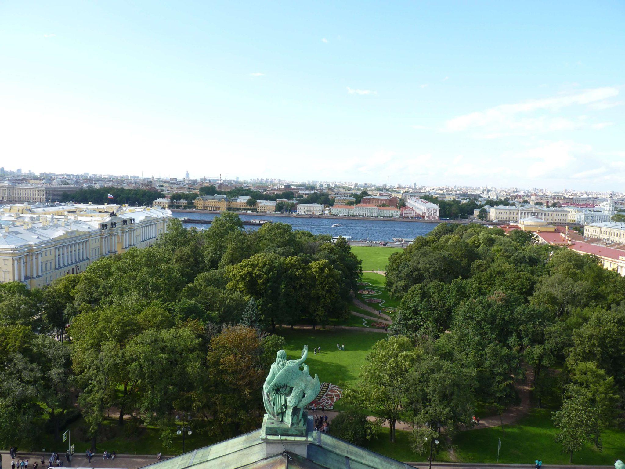 Vista São Petersburgo Rússia Mundo Indefinido