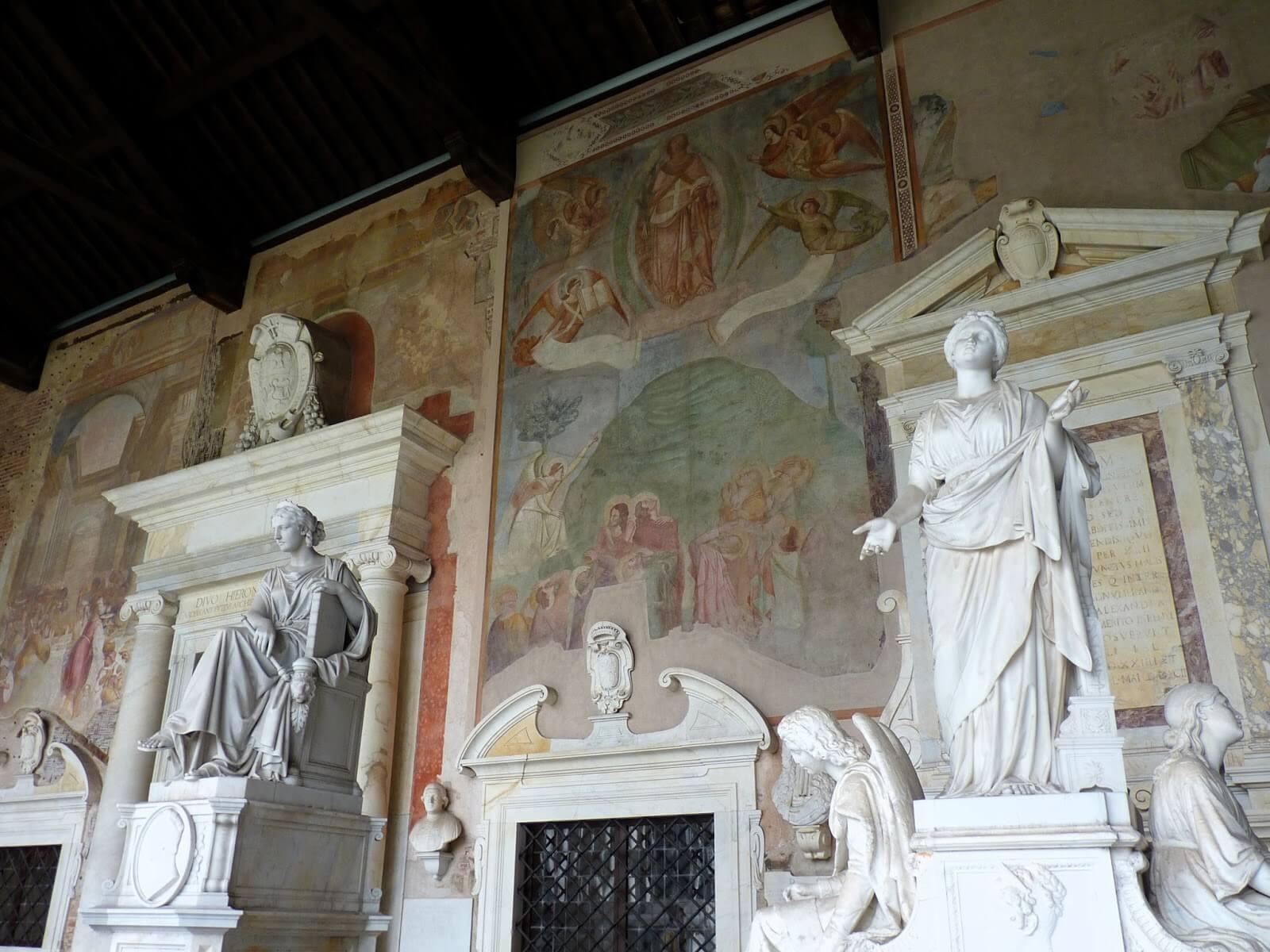 Camposanto Campas Pisa Itália 01 Mundo Indefinido
