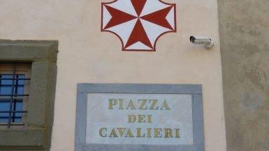 Piazza dei Cavalieri Placa Pisa Itália Mundo Indefinido