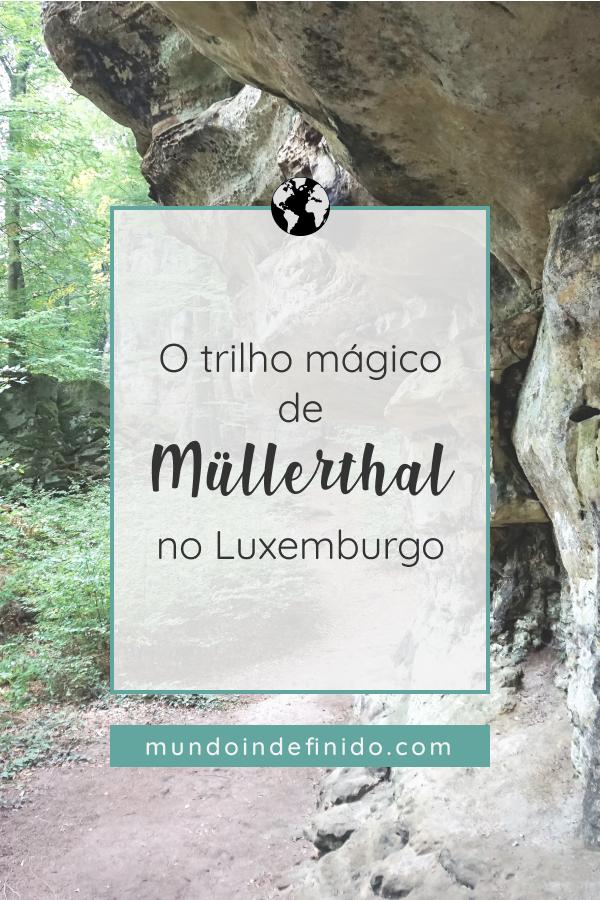 O Luxemburgo tem um trilho mágico, na região de Müllerthal. São mais de 112 quilómetros de magníficos caminhos no meio da natureza. Vem conhecer um deles!