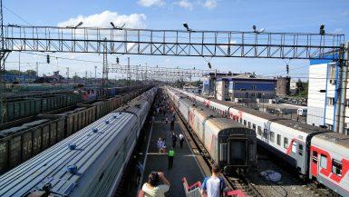 Transiberiano comboio Irkutsk Mundo Indefinido