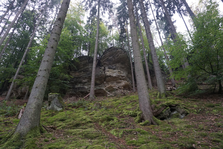Início do Trilho de Mullerthal, no Luxemburgo