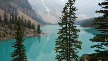Lagos em Banff Canadá Mundo Indefinido
