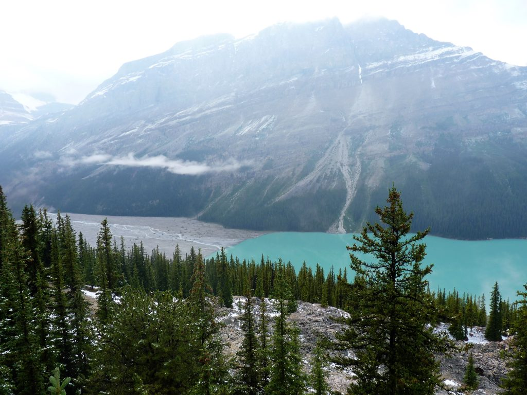 Peyto Lake Banff Alberta Canadá 02 Mundo Indefinido