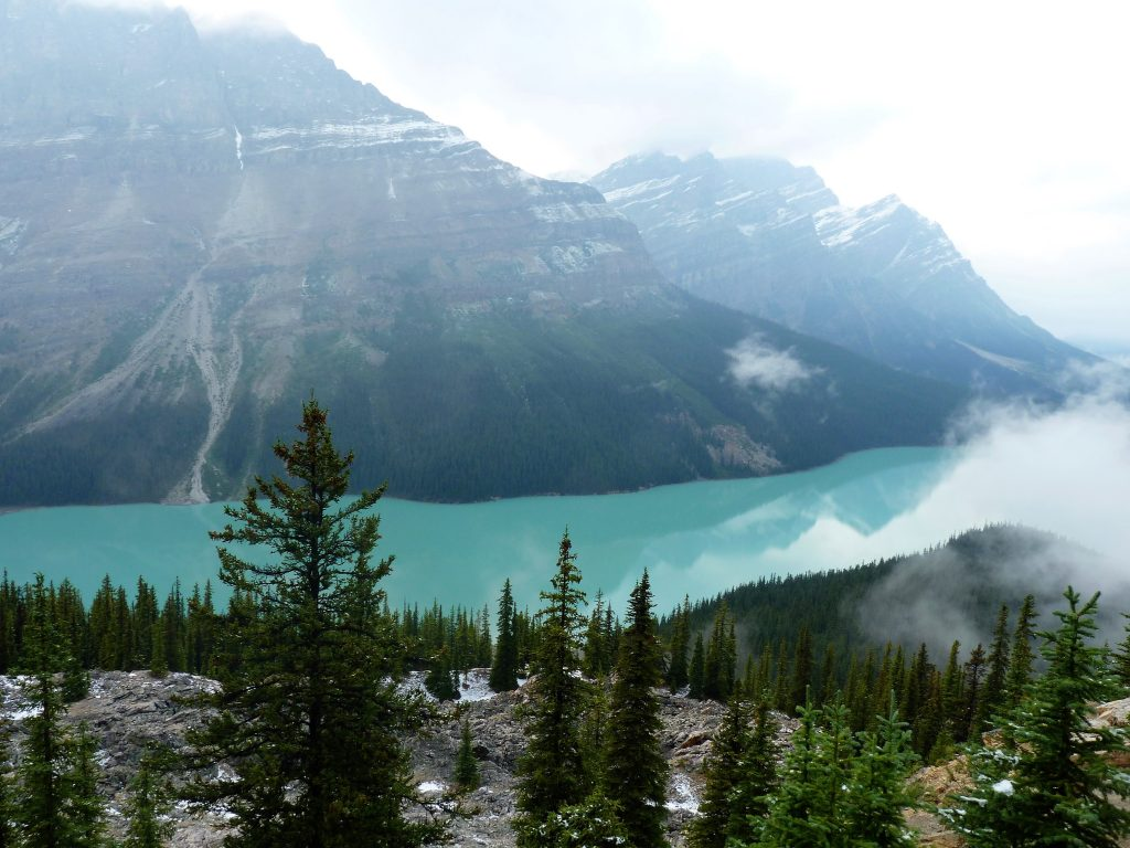 Peyto Lake Banff Alberta Canadá 03 Mundo Indefinido