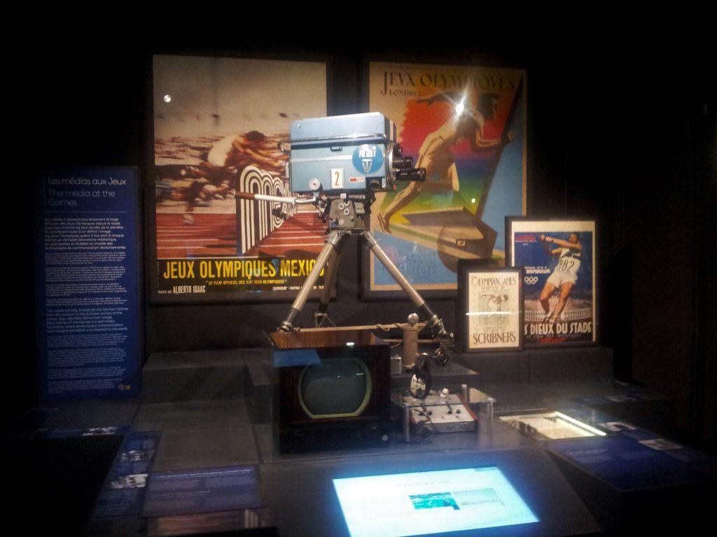 Exposição do Museu Olímpico de Lausanne Suíça