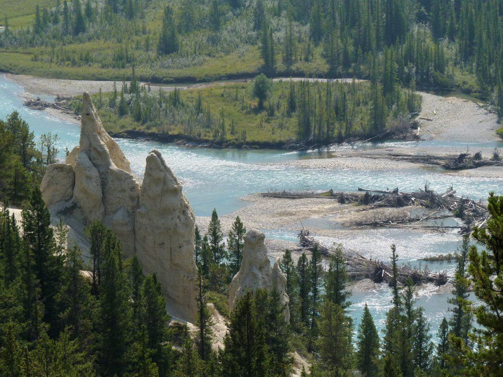 Hoodoos Trail 13 Banff Canadá