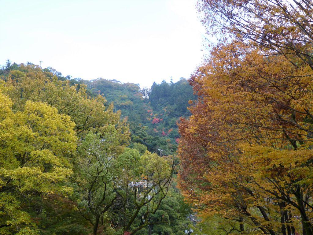 Subida Teleférico 01 Castelo de Gifu Japão Mundo Indefinido