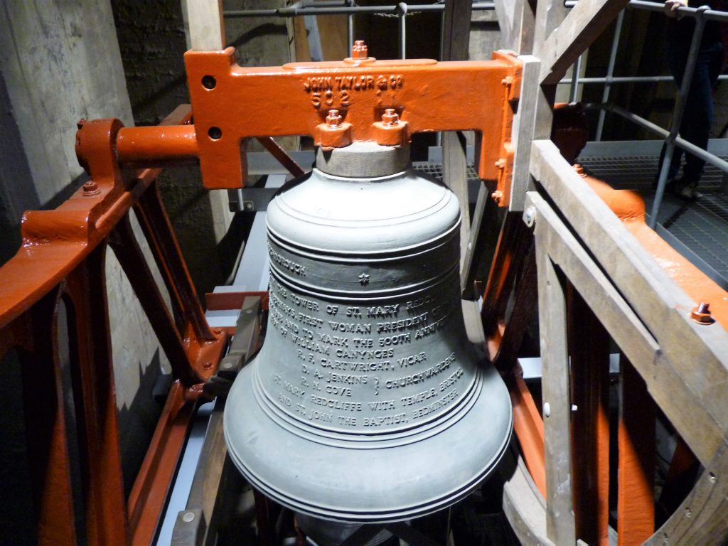 Torre dos Sinos St Mary Redcliff Bristol Inglaterra 03
