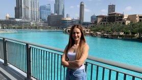 Susana Pinho no Dubai